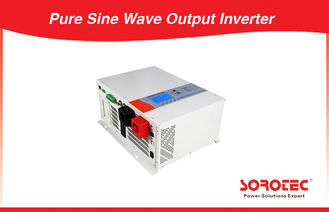 1-10kVA 120 / 220 / 230 / 240VAC Solar Power Inverters Pure Sine Wave Output Square